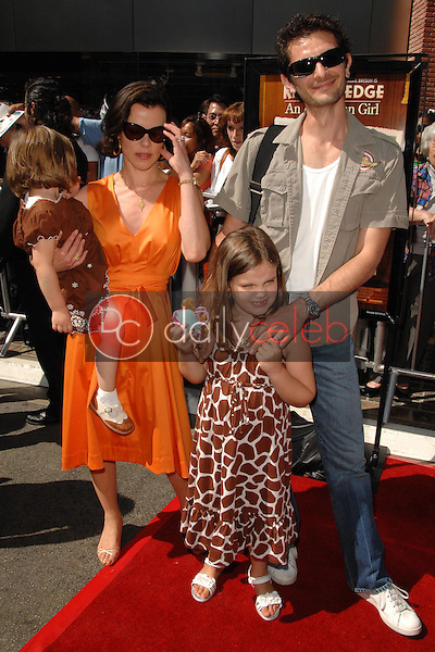 Debi Mazar and family<br />