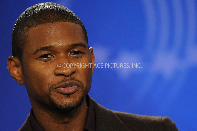 WWW.ACEPIXS.COM . . . . . ....September 24 2009, New York City....Singer Usher at the Clinton Global Initiative on September 24 2009 in New York City....Please byline: KRISTIN CALLAHAN - ACEPIXS.COM.. . . . . . ..Ace Pictures, Inc:  ..tel: (212) 243 8787 or (646) 769 0430..e-mail: info@acepixs.com..web: http://www.acepixs.com
