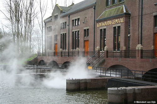 Ir.D.F. Wouda steam pumping station, Lemmer - Netherlands (Holland).<br /> In 1998 this monument was placed at the World Heritage List of UNESCO. See also  http://whc.unesco.org/sites/867.htm (and the Dutch site http://www.woudagemaal.nl).<br /> <br /> Ir.D.F. Wouda-stoomgemaal, Lemmer - Nederland.<br /> In 1998 is dit monument geplaatst op de Werelderfgoedlijst van UNESCO. <br /> <br /> &copy; Meindert van Dijk<br /> Hires available!
