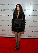 Cher arrives for the formal Artist's Dinner honoring the recipients of the 41st Annual Kennedy Center Honors hosted by United States Deputy Secretary of State John J. Sullivan at the US Department of State in Washington, D.C. on Saturday, December 1, 2018. The 2018 honorees are: singer and actress Cher; composer and pianist Philip Glass; Country music entertainer Reba McEntire; and jazz saxophonist and composer Wayne Shorter. This year, the co-creators of Hamilton­ writer and actor Lin-Manuel Miranda, director Thomas Kail, choreographer Andy Blankenbuehler, and music director Alex Lacamoire will receive a unique Kennedy Center Honors as trailblazing creators of a transformative work that defies category.<br /> Credit: Ron Sachs / Pool via CNP