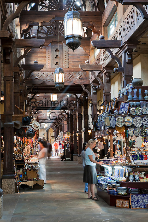 United Arab Emirates, Dubai: Shopping in the souk, Madinat Jumeriah