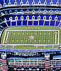 Aerial Photograph of the Baltimore Ravens Stadium Aerial views of artistic patterns in the earth.