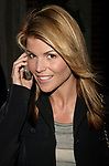 Lori Loughlin Attending a Private party in honor of the WB TV Network's 2004 - 2005 Upfront announcements in New York City.<br />