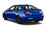 Car pictures of rear three quarter view of 2018 Subaru WRX Base 4 Door Sedan angular rear