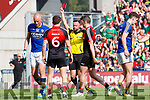 Kieran Donaghy Kerry receives a red card from referee David Gough during the All Ireland Semi Final Replay in Croke Park on Saturday.