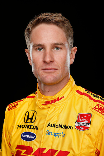 17 February 2015, Indianapolis, Indiana, USA<br /> Ryan Hunter-Reay<br /> ©2015, Michael L. Levitt<br /> LAT Photo USA