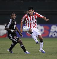 Chivas USA midfielder Jesus Padilla (10)  Chivas USA defeated DC United 2-0  at RFK Stadium, Saturday October 3, 2009.
