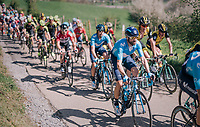5-time Fl&egrave;che champion Alejandro Valverde (ESP/Movistar team) up La Redoute<br /> <br /> 82nd Fl&egrave;che Wallonne 2018 (1.UWT)<br /> 1 Day Race: Seraing - Huy (198km)