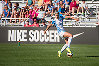 Kansas City, MO - Sunday May 07, 2017: Alanna Kennedy during a regular season National Women's Soccer League (NWSL) match between FC Kansas City and the Orlando Pride at Children's Mercy Victory Field.
