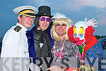 Having a laugh at the fancy dress in aid of the Irish Heart Foundation at the Thatch bar Lisselton on Saturday were  Alan The Marine Doherty, Alan Willy Wonka Chute, Jer Geraldine Galvin and Mike Krusty Clown   Copyright Kerry's Eye 2008