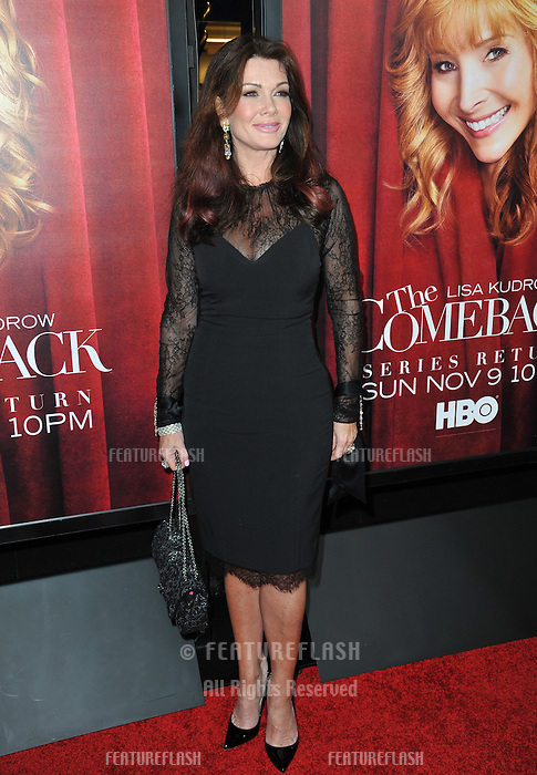 """Lisa Vanderpump at the premiere of HBO TV series """"The Comeback"""" at the El Capitan Theatre, Hollywood.<br /> November 5, 2014  Los Angeles, CA<br /> Picture: Paul Smith / Featureflash"""