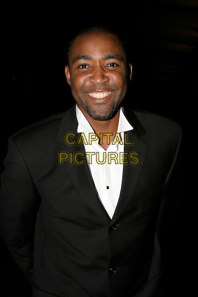DARREN CAMPBELL.The 22nd Annual Sport Ball at the Hilton,.London, 14th September 2005.half length black suit white shirt.Ref: AH.www.capitalpictures.com.sales@capitalpictures.com.© Capital Pictures.