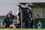 07.07.2019, Parkstadion, Zell am Ziller, AUT, TL Werder Bremen Zell am Ziller / Zillertal Tag 03 - FSP Blitzturnier<br /> <br /> im Bild<br /> Florian Kohfeldt (Trainer SV Werder Bremen), <br /> <br /> im ersten Spiel des Blitzturniers SV Werder Bremen vs WSG Swarowski Tirol, <br /> <br /> Foto © nordphoto / Ewert