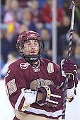 Stephen Gionta - The Boston College Eagles defeated the University of Massachusetts-Lowell River Hawks 4-3 in overtime on Saturday, January 28, 2006, at the Paul E. Tsongas Arena in Lowell, Massachusetts.