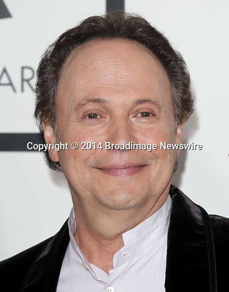 Pictured: Billy Crystal<br /> Mandatory Credit &copy; Frederick Taylor/Broadimage<br /> 56th Annual Grammy Awards - Red Carpet<br /> <br /> 1/26/14, Los Angeles, California, United States of America<br /> <br /> Broadimage Newswire<br /> Los Angeles 1+  (310) 301-1027<br /> New York      1+  (646) 827-9134<br /> sales@broadimage.com<br /> http://www.broadimage.com