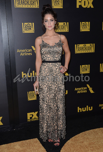 10 January  - Beverly Hills, Ca - Janet Montgomery. FOX Golden Globes Awards Party 2016 Sponsored by American Airlines held at Beverly Hilton. Photo Credit: Birdie Thompson/AdMedia