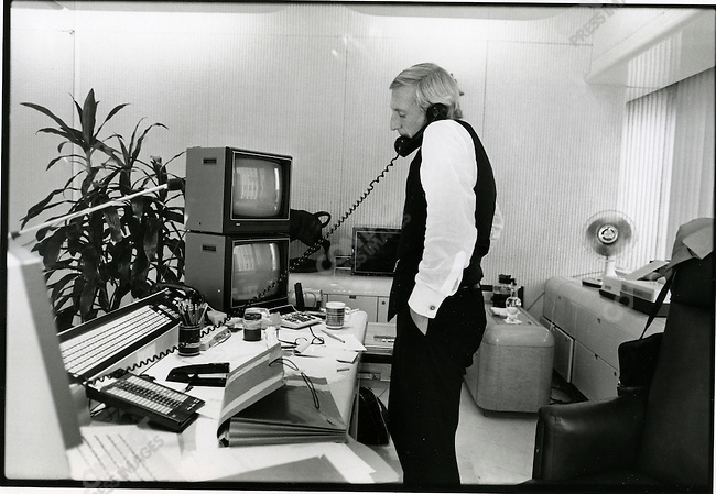 Wall Street's Ivan Boesky in New York City, October, 1984.