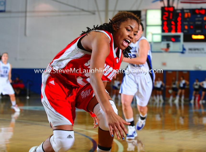 Senior night at CCSU.  Women's basketball vs. Sacred Heart University.