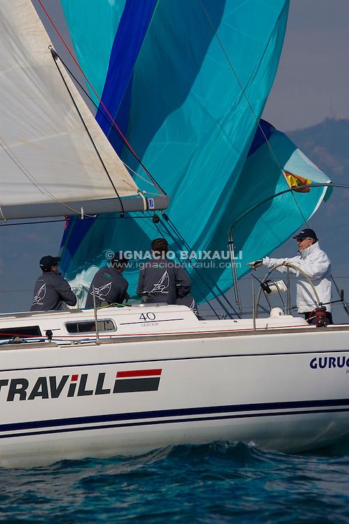 ESP7295 GURUGU UNO. YONDAL NAUTIC S.L.. R.C.N.Castellón. DUFOUR 40 - 61 Trofeo Magdalena - Cruceros - Real Club Náutico de Castellón - 1-2/3/2008 - Castellón, España