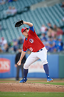 Buffalo Bisons relief pitcher Zach Jackson (38) during an International League game against the Norfolk Tides on June 22, 2019 at Sahlen Field in Buffalo, New York.  Buffalo defeated Norfolk 3-0.  (Mike Janes/Four Seam Images)