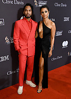 09 February 2019 - Beverly Hills, California - Miguel, Nazanin Mandi. The Recording Academy And Clive Davis' 2019 Pre-GRAMMY Gala held at the Beverly Hilton Hotel. Photo Credit: Birdie Thompson/AdMedia