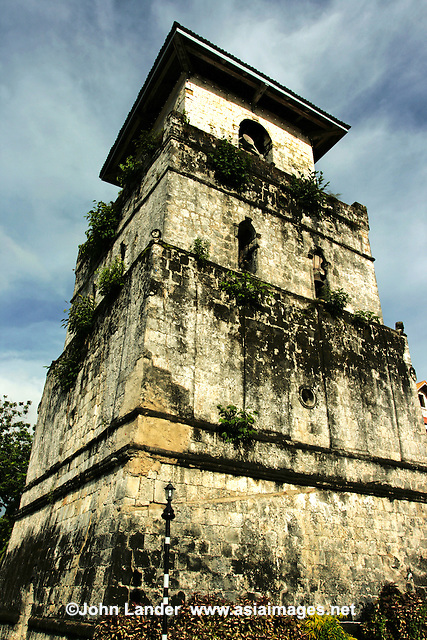Baclayon Watchtower Belfry - Watchtowers or Belfrys were a common feature of catholic churches and cathedrals in the Visayas Island of the Philippines beacuse of the many pirates in the area in the 19th century.  This one is at Baclaran, near Tagbilaran.