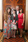 Sarah Caine and family at Termonfeckin Confirmation...Photo NEWSFILE/Jenny Matthews.(Photo credit should read Jenny Matthews/NEWSFILE)....This Picture has been sent you under the condtions enclosed by:.Newsfile Ltd..The Studio,.Millmount Abbey,.Drogheda,.Co Meath..Ireland..Tel: +353(0)41-9871240.Fax: +353(0)41-9871260.GSM: +353(0)86-2500958.email: pictures@newsfile.ie.www.newsfile.ie.FTP: 193.120.102.198.
