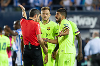 Luis Suarez of FC Barcelona during the match between CD Leganes v FC Barcelona of LaLiga, date 6, 2018-2019 season. Municipal de Butarque Stadium. Madrid, Spain - 26 SEP 2018.
