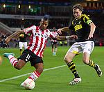 Nederland, Eindhoven, 25 oktober  2012.Europa League.Seizoen 2012-2013.PSV-AIK .Jeremain Lens van PSV in actie met de bal