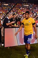 WASHINGTON, USA, 30 MAIO 2012 - AMISTOSO USA X BRA - Jogador Huck da selecao brasileira durante partida em amistoso contra selecao dos Estados Unidos no estádio Fedex Field, em Washington, nesta quarta-feira. FOTO: LUCIANA LEMMI - BRAZIL PHOTO PRESS.