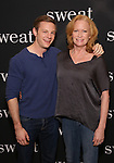 Will Pullen and Johanna Day attend the photocall for the Broadway cast of 'Sweat'  at The New 42nd Street Studios on 2/16/2017 in New York City.