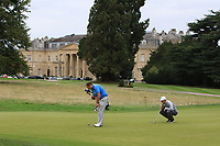 Jamie Cleary (SCO) on the 18th during Round 1 of the Bridgestone Challenge 2017 at the Luton Hoo Hotel Golf &amp; Spa, Luton, Bedfordshire, England. 07/09/2017<br /> Picture: Golffile   Thos Caffrey<br /> <br /> <br /> All photo usage must carry mandatory copyright credit     (&copy; Golffile   Thos Caffrey)