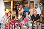Megan Finn leaving Tralee to work on a Cruise ship having a night out with family and friends at Bella Bia's on Saturday Pictured front l-r Levi O'Leary, Kelly Taylor, Jackie O'Sullivan, Megan Finn, Grainne O'Sullivan,Back l-r  Lorna O'Sullivan, Mary Taylor, Mandy Hudson, Margaret Flynn, Caroline Hutchinson