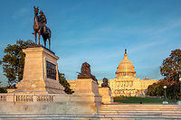US Capitol Building Washington DC - Grant Memorial