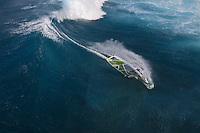 Florian Jung (GER) windsurfing in Maui, Hawaii, USA