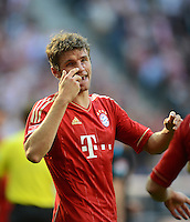 FUSSBALL   1. BUNDESLIGA  SAISON 2012/2013   7. Spieltag FC Bayern Muenchen - TSG Hoffenheim    06.10.2012 Thomas Mueller (FC Bayern Muenchen)