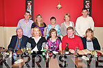 40th Birthday Party: Kay O'Sullivan, Lower Athea, celebrating her 40th birthday with her family at Fitzgerald's Restaurant, Listowel on Saturday night. Front : Ml. Dalton, Majella Dalton, Kay, Pat O'Sullivan and Breda O'Sullivan. Back : John Sheahan, Julia Stack, Mary Brosnan, Mary Sheahan and Jim O'Sullivan.