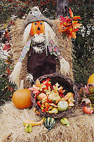 Halloween Decoration, Hill Country, Texas, USA