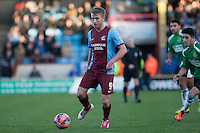 Paddy Madden of Scunthorpe U<br />  - Scunthorpe United vs Worcester City - FA Challenge Cup 2nd Round Football at Glanford Park, Scunthorpe - 07/12/14 - MANDATORY CREDIT: Mark Hodsman/TGSPHOTO - Self billing applies where appropriate - contact@tgsphoto.co.uk - NO UNPAID USE