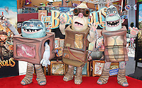 UNIVERSAL CITY, CA, USA - SEPTEMBER 21: Atmosphere arrives at the Los Angeles Premiere Of Focus Features' 'The Boxtrolls' held at Universal CityWalk on September 21, 2014 in Universal City, California, United States. (Photo by Celebrity Monitor)