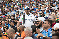 Drummers from the Bharat Army kept the noise level high during India vs Australia, ICC World Cup Cricket at The Oval on 9th June 2019