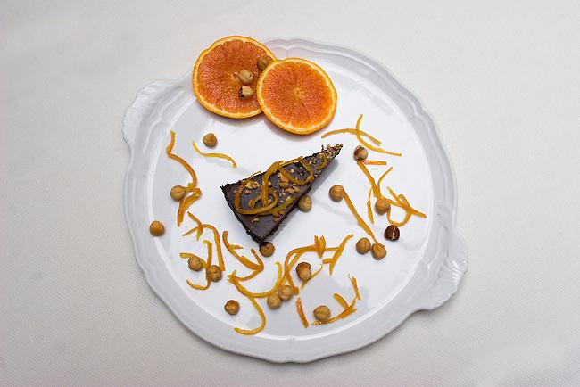 Dessert, Zibibbo Restaurant, Florence, Italy