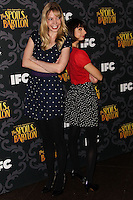 "LOS ANGELES, CA - JANUARY 07: Riki Lindhome, Kate Micucci arriving at the Los Angeles Screening Of IFC's ""The Spoils Of Babylon"" held at the Directors Guild Of America on January 7, 2014 in Los Angeles, California. (Photo by Xavier Collin/Celebrity Monitor)"