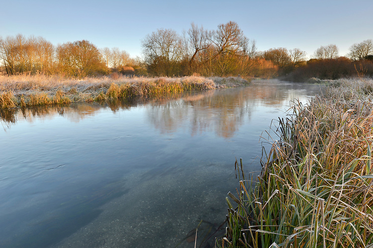 The River Test at Longparish, Hampshire