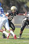 Palos Verdes, CA 09/24/10 - Joey Augello (Peninsula #58)  in action during the Serra-Peninsula varsity football game at Peninsula High School.