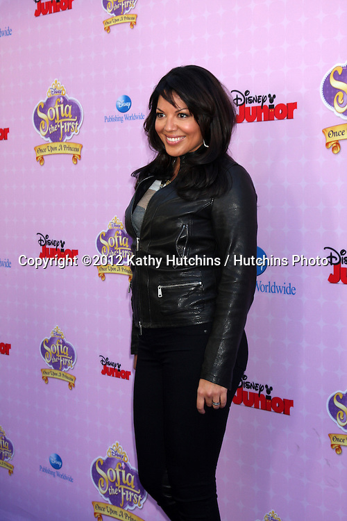 "LOS ANGELES - NOV 10:  Sara Ramirez arrives at the ""Sofia The First: Once Upon a Princess"" Premiere And Story Book Launch at Walt Disney Studios on November 10, 2012 in Burbank, CA"