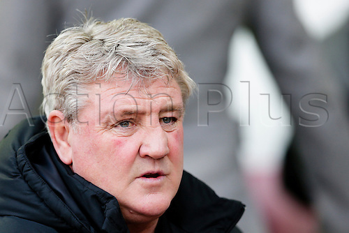 18.01.2015.  London, England. Barclays Premier League. West Ham versus Hull City.  Hull City manager Steve Bruce