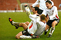 20040403     Copyright Pic : James Stewart.File Name : jspa04_clyde_v_qots.JACK ROSS CELEBRATES SCORING CLYDE'S SECOND GOAL......James Stewart Photo Agency 19 Carronlea Drive, Falkirk. FK2 8DN      Vat Reg No. 607 6932 25.Office     : +44 (0)1324 570906     .Mobile  : +44 (0)7721 416997.Fax         :  +44 (0)1324 570906.E-mail  :  jim@jspa.co.uk.If you require further information then contact Jim Stewart on any of the numbers above.........