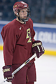 Andrew Orpik - The Boston College Eagles took their morning skate on Saturday, April 8, 2006, at the Bradley Center in Milwaukee, Wisconsin to prepare for the 2006 Frozen Four Final game versus the University of Wisconsin.