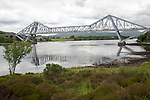 Connel Bridge crossing Loch Etive, Falls of Lora, Oban, Argyll and Bute, Scotland, UK